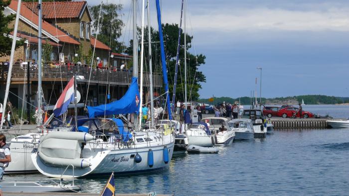 Begränsad tillgänglighet till kaj vid Fyruddens hamn samt Odalkajen i Valdemarsviken
