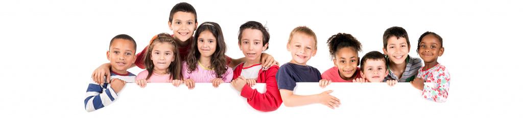 Barn i grupp