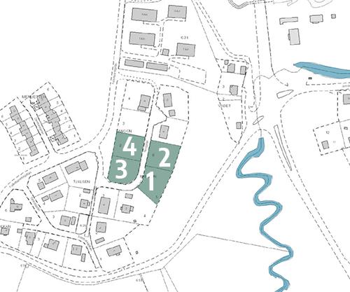 Tomter vid Folkets parkskullen i Valdemarsvik