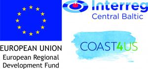 Loggor för EU-projektet Coast4Us
