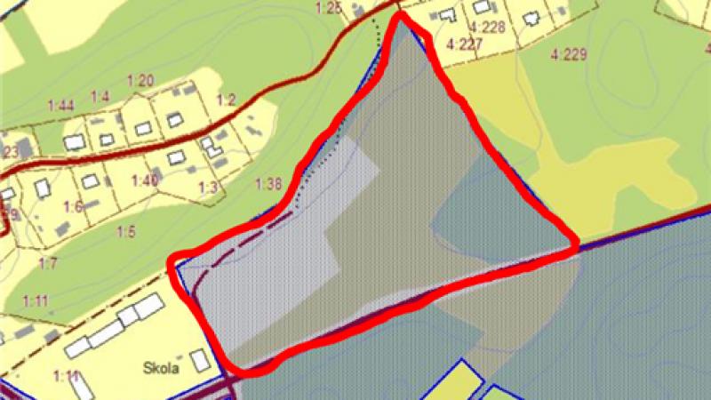 Detaljplan för Gryts Prästgård 1:38
