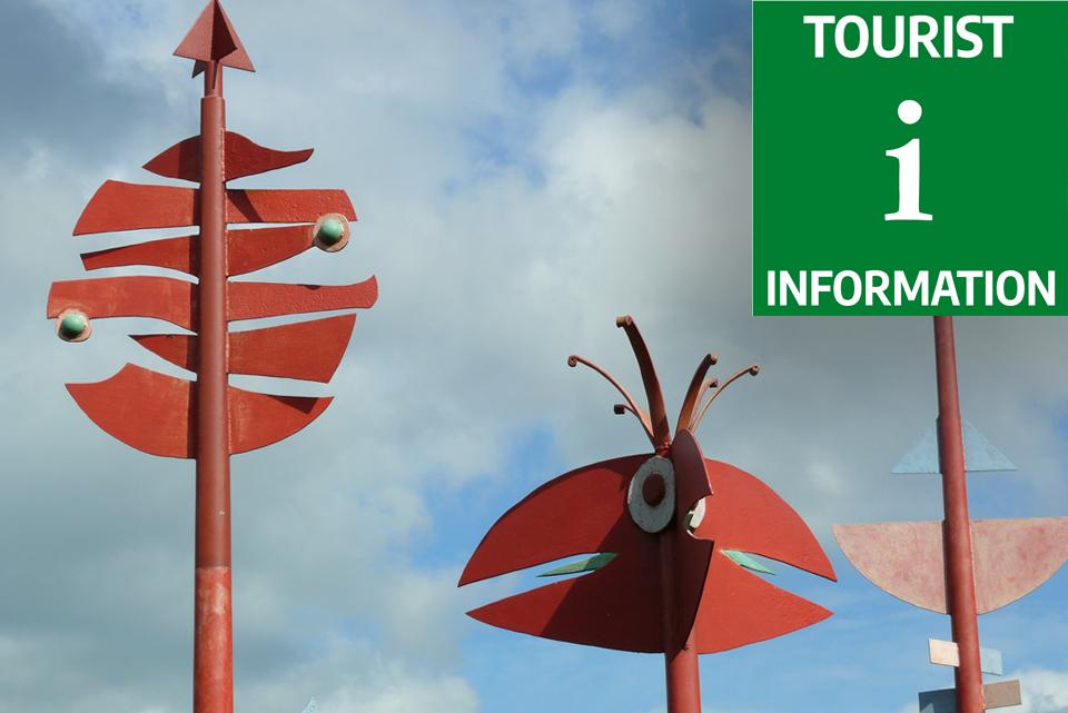 Turistinformationsbild