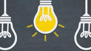Lampa som lyser