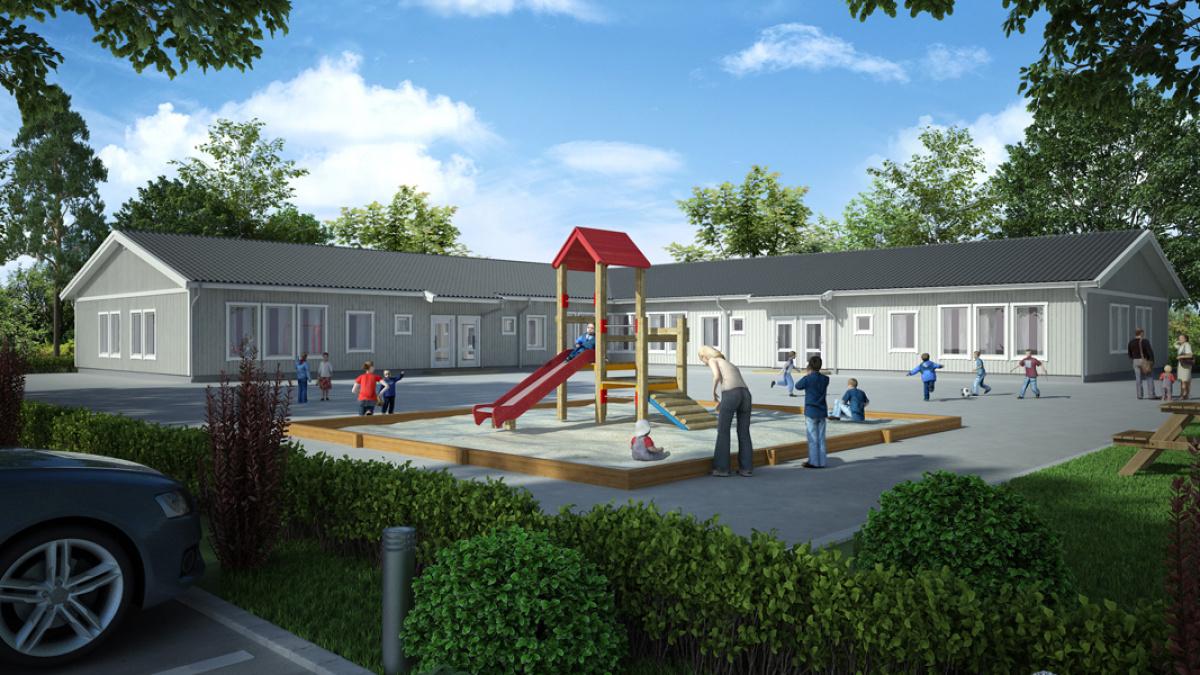 Nya förskolor: Sörby och Loviseberg