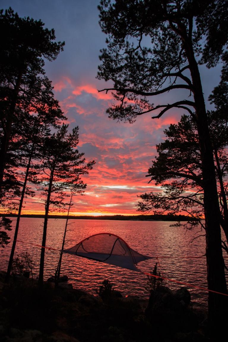 Äventyrshelg: yogapaddling och övernattning i tree-tents