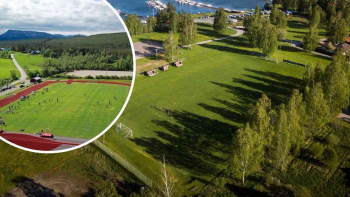 Grännäs IP finalist i Sveriges finaste idrottsplats