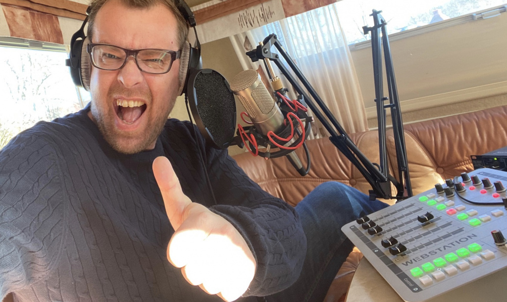 Radiofredag med Mathias Lindholm
