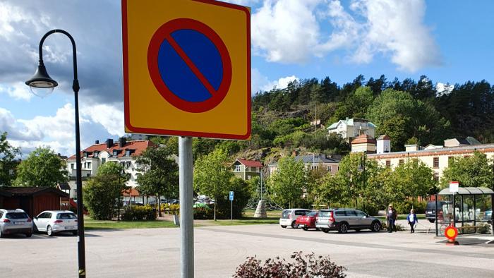 Påminnelse om gällande trafikregler inom hamnområdet inklusive Kolplan