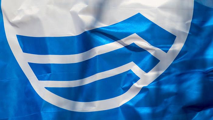Fyrudden hissar Blå Flagg