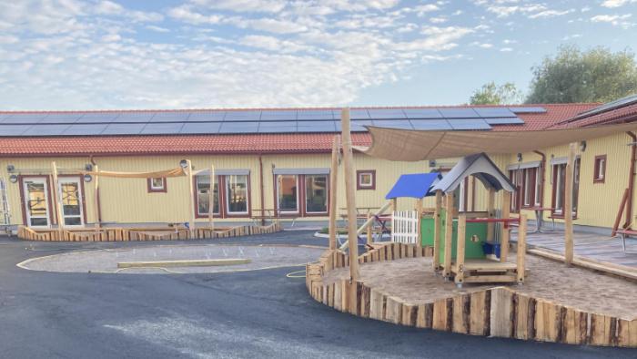 Invigning av Lovisebergs förskola